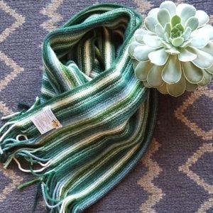 William Brunton Hand Knitted Wool Scarf